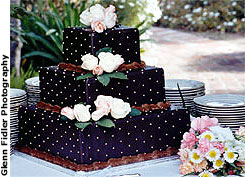 Chocolate fudge wedding cake recipe